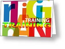 Creative Title - Training Greeting Card