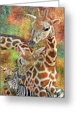 Creatures Great And Small Greeting Card
