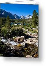 Creek At Heart Lake Greeting Card