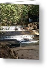 Creek At Table Rock Greeting Card