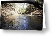 Creek At The Ridge Greeting Card