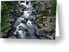 Creek Flow Greeting Card