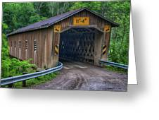Creek Road Bridge Greeting Card