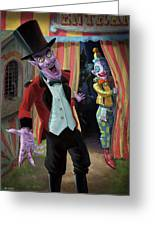 Creepy Circus Greeting Card