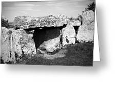 Creevykeel Court Cairn County Sligo Ireland Greeting Card