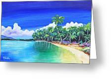 Crescent Beach Greeting Card
