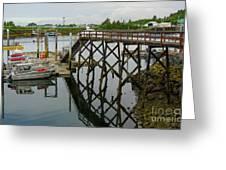 Crescent Harbor Greeting Card