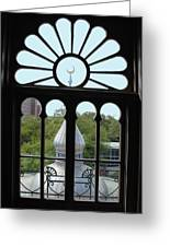 Crescent Window Greeting Card