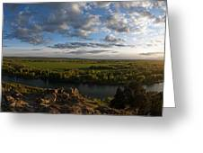 Cress Creek View Greeting Card