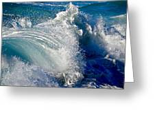 Cresting Wave Greeting Card