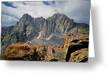 210925-crestone Needle And Peak  Greeting Card