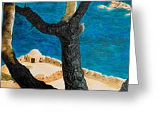 Crete Island Greeting Card