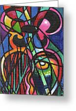 Creve Coeur Streetlight Banners Whimsical Motion 19 Greeting Card