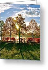 Crisp Autumn Day Greeting Card