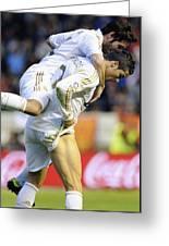 Cristiano Ronaldo 5 Greeting Card