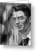 Cristiano Soccer Player 01 Greeting Card