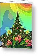 Cristmas Tree 2 Greeting Card