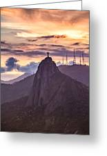Cristo Redentor - Christ The Redeemer Greeting Card