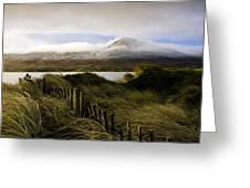 Croagh Patrick, County Mayo, Ireland Greeting Card by Peter McCabe