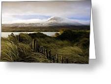 Croagh Patrick, County Mayo, Ireland Greeting Card