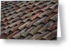 Croatian Roof Tiles Greeting Card