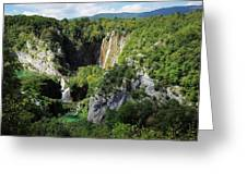 Croatias Wonders Greeting Card