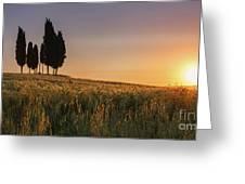 Croce Di Prata Greeting Card