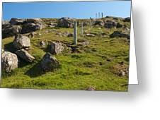 Crofters Fence Greeting Card