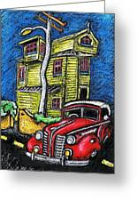 Crooked House Greeting Card