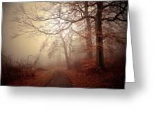 Crooked Path Greeting Card