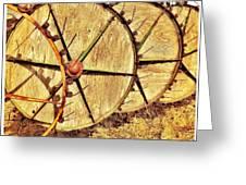 Crop Circles Greeting Card