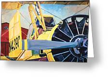 Crop Duster 93 Greeting Card