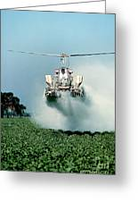 Cropdusting Greeting Card
