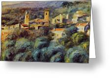 Cros De Cagnes 1905 Greeting Card