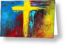 Cross No.2 Greeting Card