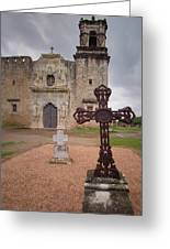 Cross Markers Greeting Card