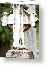 Cross Of Stone Greeting Card