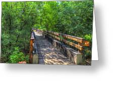 Cross Over The Bridge - Sedona Arizona Greeting Card