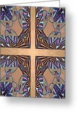 Cross Reflections Greeting Card by Ricky Kendall
