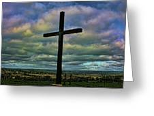 Cross Without Words Greeting Card