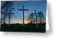 Crosses Greeting Card