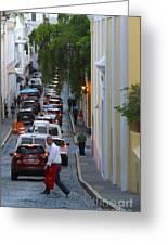 Crossing San Juan Greeting Card