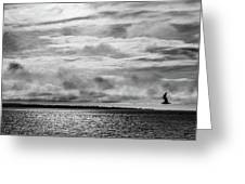 Crossing The Megler Greeting Card