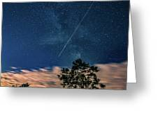 Crossing The Milky Way Greeting Card