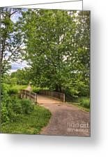 Crossing Toms Creek Greeting Card