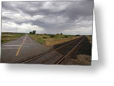 Crossroads Greeting Card