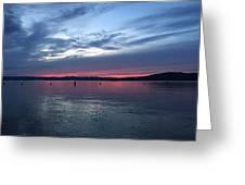 Croton Sky Greeting Card
