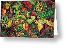 Crotones Greeting Card