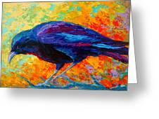 Crow IIi Greeting Card