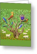 Crowded Tree Greeting Card